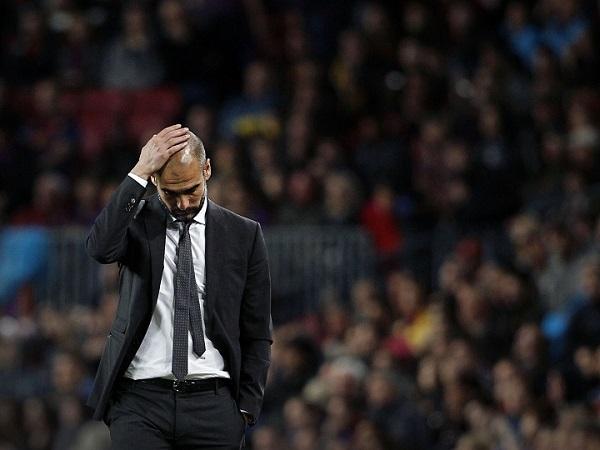 Guardiola thừa nhận đội của ông đáng bị loại.