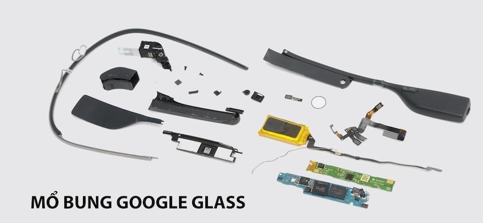 Giá linh kiện của Google Glass chỉ...80 USD!