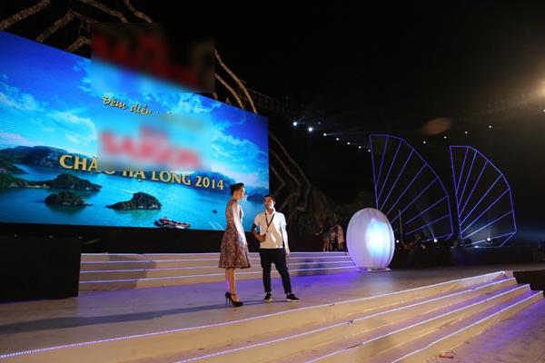 Hồ Quỳnh Hương và đạo diễn Việt Tú. - Tin sao Viet - Tin tuc sao Viet - Scandal sao Viet - Tin tuc cua Sao - Tin cua Sao