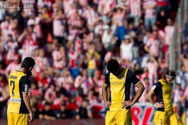 Atletico không còn độc bá