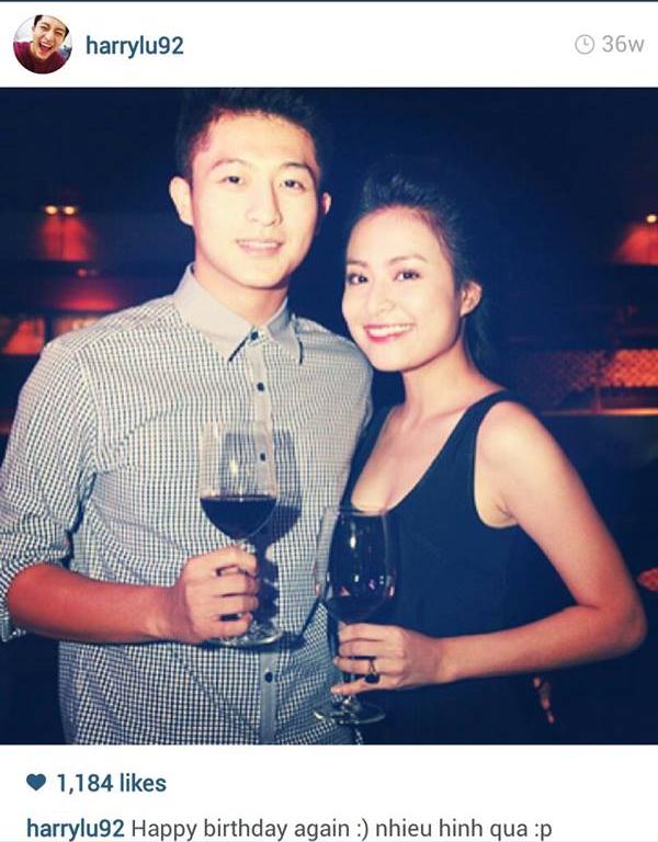 Chỉ với 1 sinh nhật của Hoàng Thùy Linh mà Harry Lu cũng chia sẻ khá nhiều hình ảnh