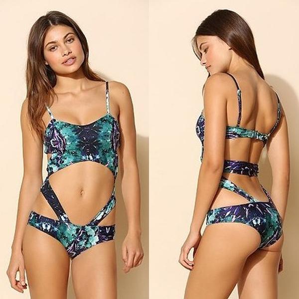 21 mẫu áo bơi cut-out táo bạo cho bạn gái hè này