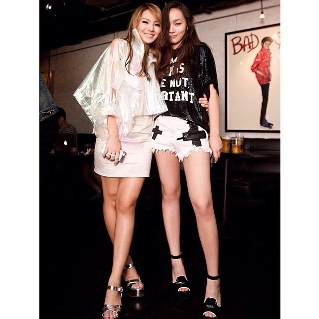 """CL (2NE1) thì chia sẻ bức ảnh chụp cùng em gái Hari: """"Myonlygirl"""""""