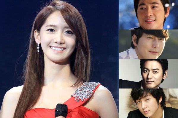 Không chỉ có Lee Seung Gi mà một số diễn viên khác như Joo Jin Mo, Jung Woo Sung, Lee Jun Ki và Kang Ji Kwan cũng từng chia sẻ rằng họ rất có ấn tượng với Yoona.
