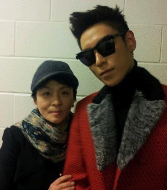 T.O.P và mẹ