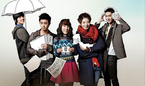 Go Dok Mi (Park Shin Hye), Enrique Geum (Yoon Si Yoon) trongFlower Boy Next Door