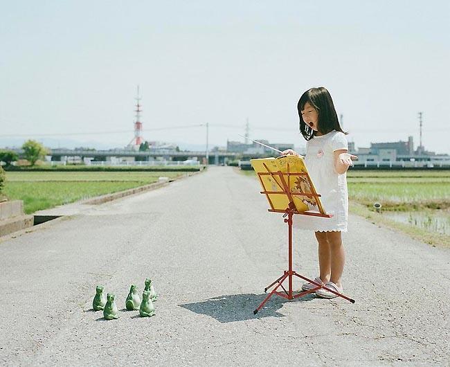 Cư dân mạng sốt với bộ ảnh bé gái Nhật cực đáng yêu