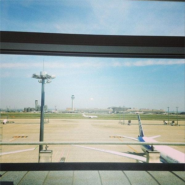 """Donghae đăng tải hình sân bay với nội dung: """"Tôi đang quay về Hàn Quốc. Hẹn gặp các bạn lần sau""""."""