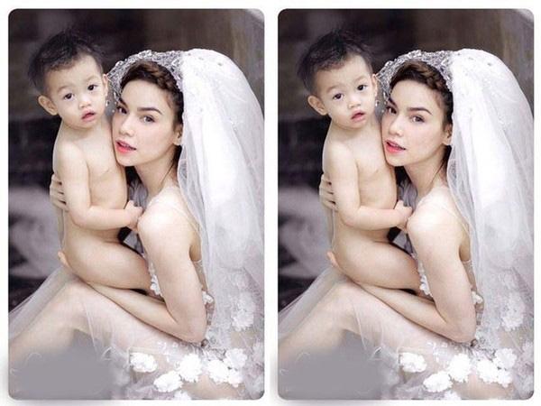 Sự xuất hiện của Subeo, càng làm tăng thêm hạnh phúc trong gia đình nhỏ của Hà Hồ - Quốc Cường