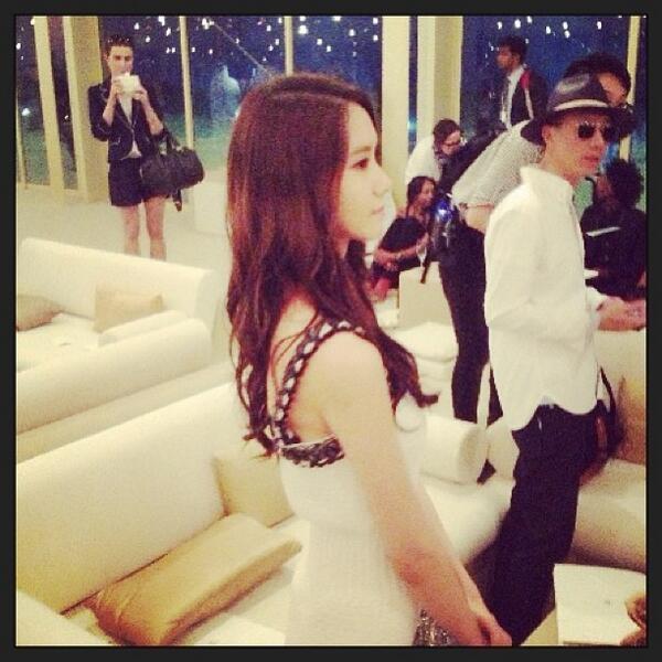 Yoona cực xinh đẹp tham dự sự kiện thời trang Chanel tại Dubai