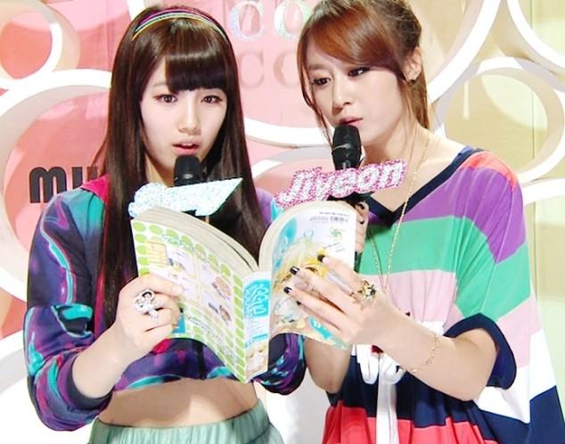 Không những là cộng sự tốt, Suzy và Jiyeon còn là bạn thân ở ngoài đời