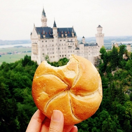 Bánh mì tròn, Đức