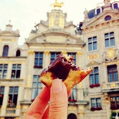 Bánh quế, Brussels, Bỉ