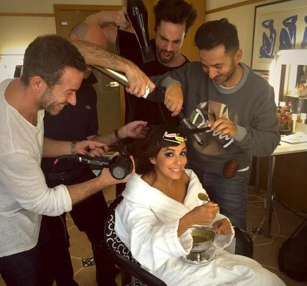 Eva Longoria được các chuyên ga thay đổi kiểu tóc