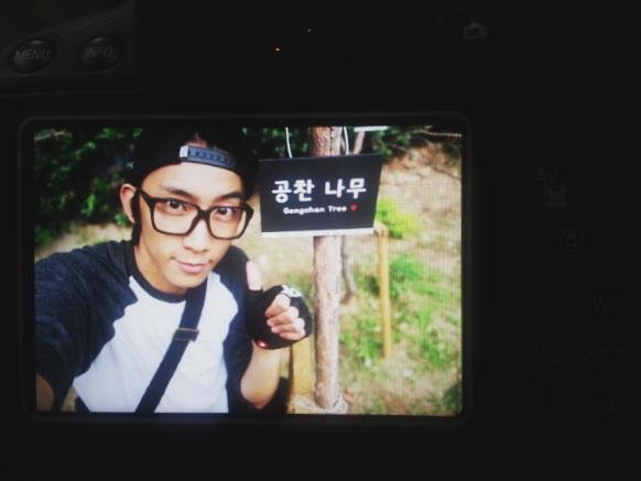 Gong Chan (B1A4) khoe hình trong khoảng thời gian nghỉ ngơi của anh