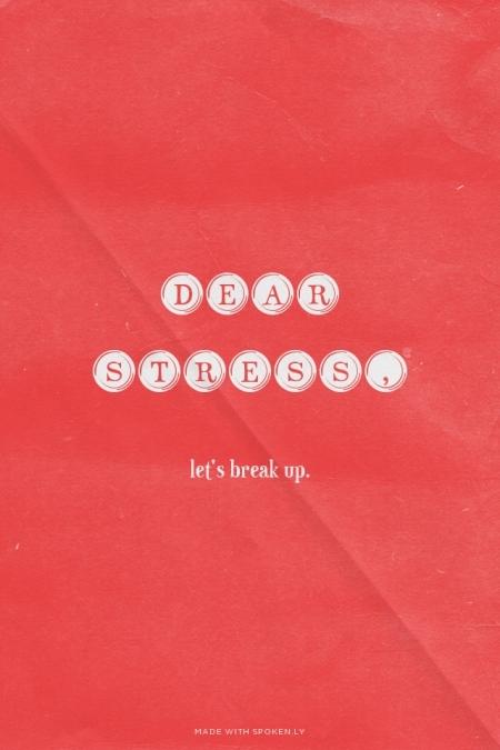 """9 cách hay để giã từ """"stress"""""""