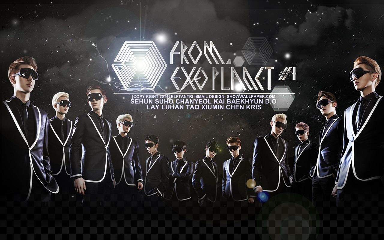 Poster concert đầu tiên của EXO