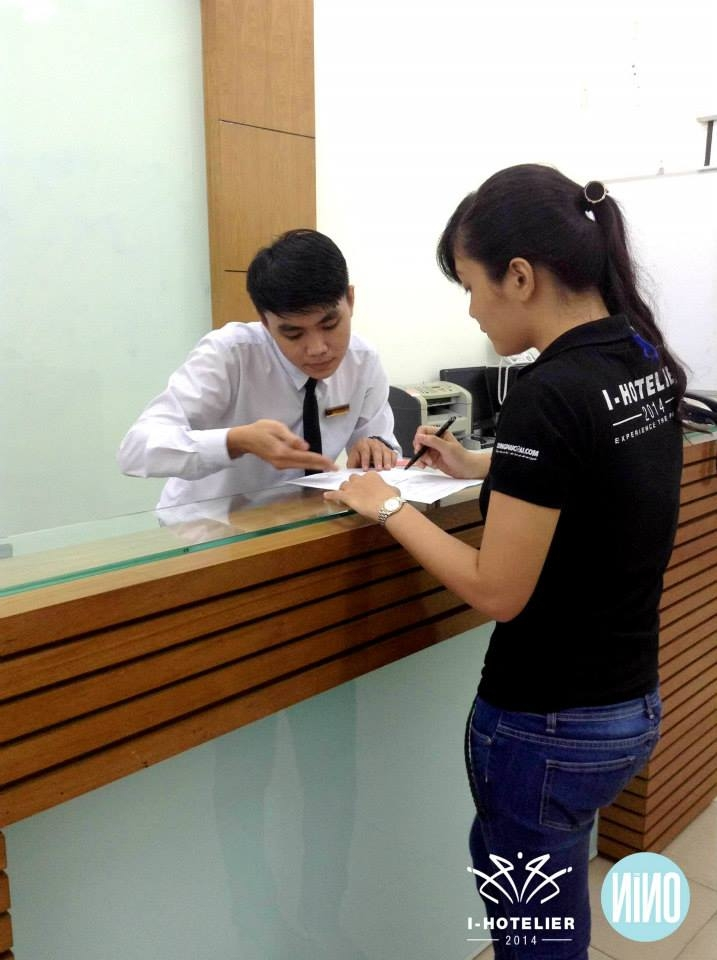 Phần thi F.O (Front Office)