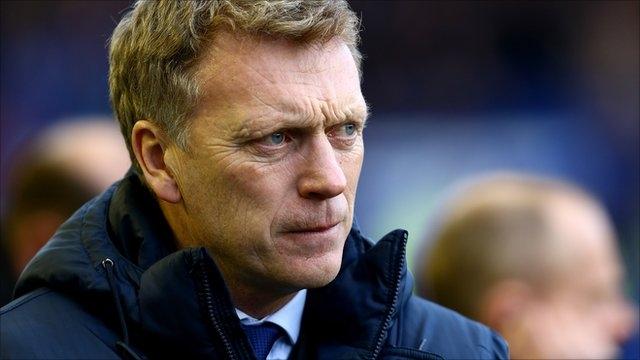 Chia tay Man Utd nhưng Moyes vẫn chưa được yên thân. Ảnh: AFP.