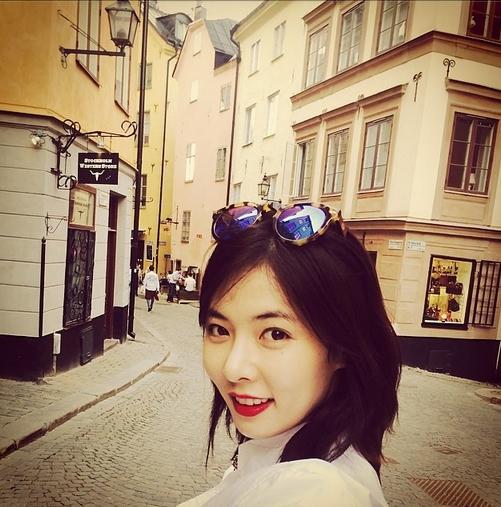 HyunA khoe hình đi du lịch cực tươi