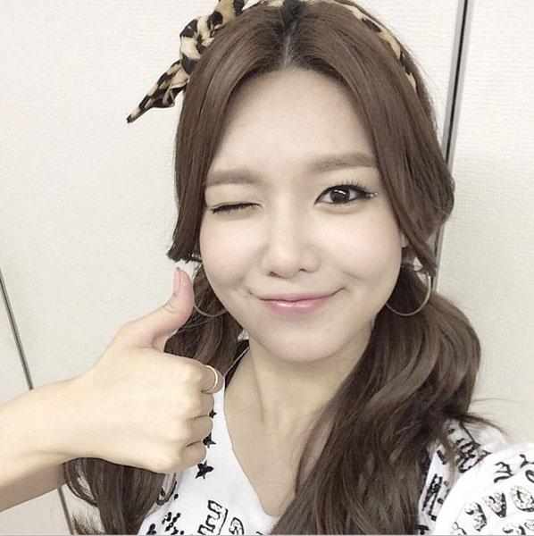 Sooyoung khoe hình sau khi concert ở Nhật kết thúc
