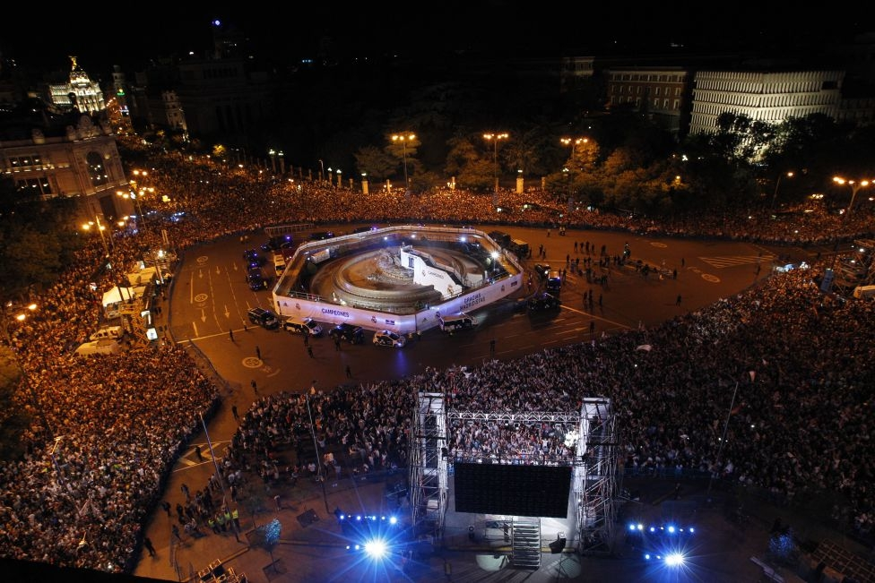 Một nửa thành Madrid có một đêm không ngủ