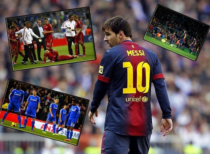 Champions League 2013/14 đánh dấu sự sa sút rõ rệt của hàng loạt quyền lực đã từng thống trị châu Âu như Barcelona hay Bayern Munich