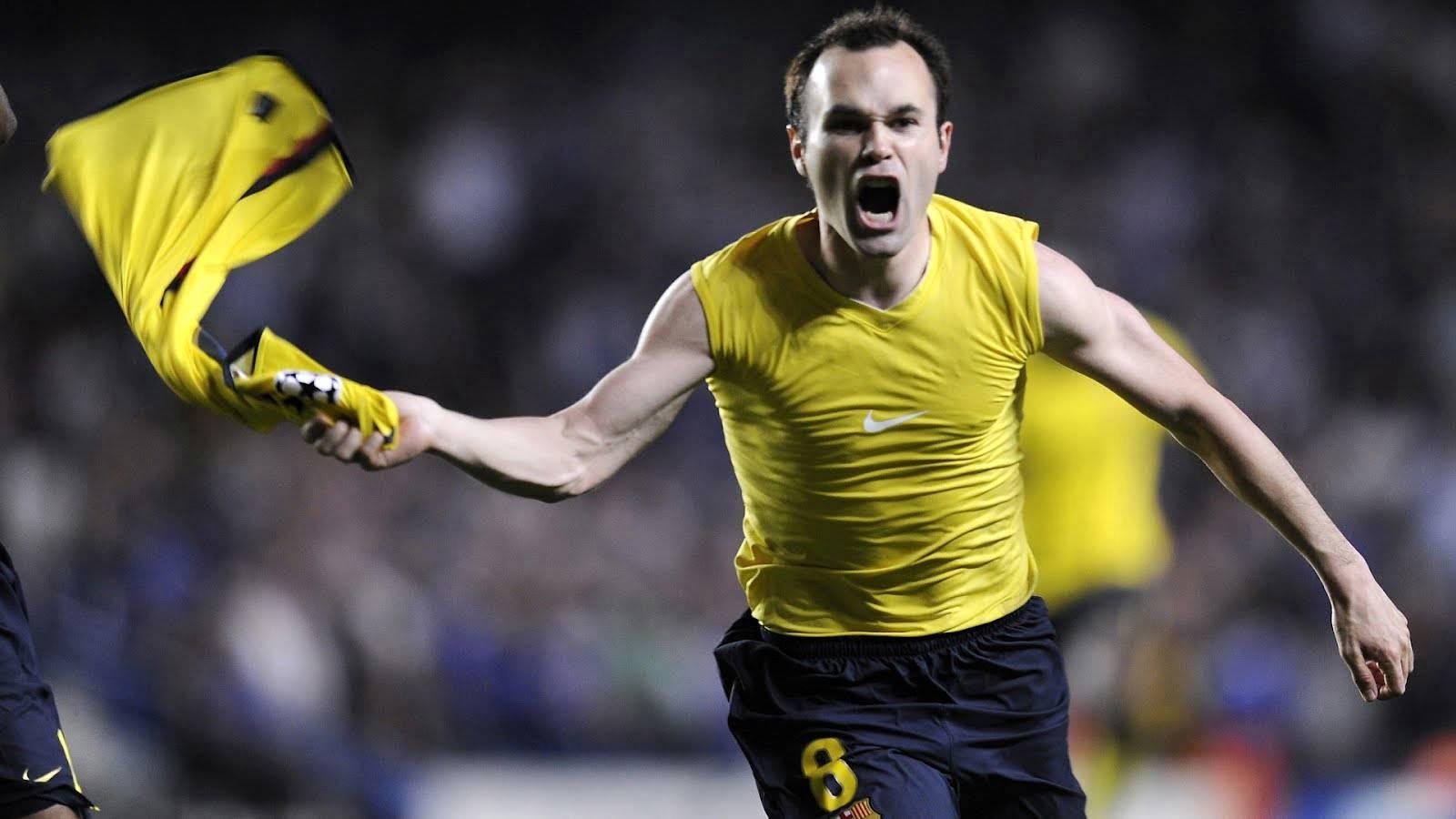 Iniesta giúp Tây Ban Nha lên ngôi lần đầu tiên tại World Cup 2010. Ảnh: Internet