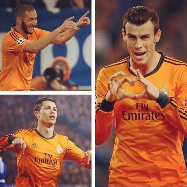 Bộ ba BBC của Real là thành công lớn của Real Madrid