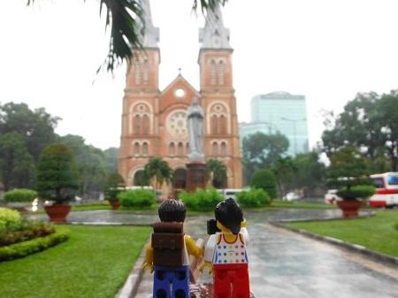 Từ Dinh Thống Nhất cho đến Bảo tàng Chứng tích chiến tranh TPHCM, nhà thờ Đức Bà,….