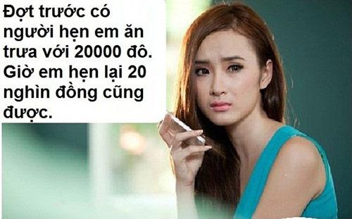 """Những phát ngôn gây sốc của """"bà mẹ nhí"""" Phương Trinh khiến cô nàng trở thành một trong những hot girl bị chế ảnh nhiều nhất."""