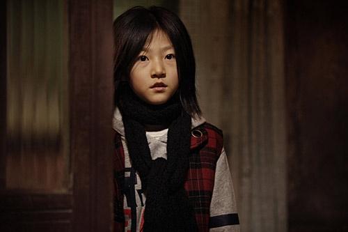Kim Sae Ron trong phimThe Man From Nowhere,hợp tác với mỹ namWon Bin