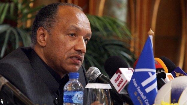 Ông Bin Hammam- cựu chủ tịch LĐBĐ châu Á (AFC)