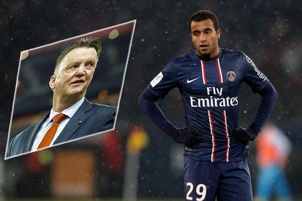 HLV Van Gaal muốn đưa Lucas Moura về thay thế Nani