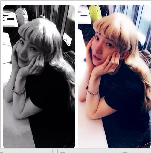 Jokwon bất ngờ khoe hình giả gái cực xinh đẹp