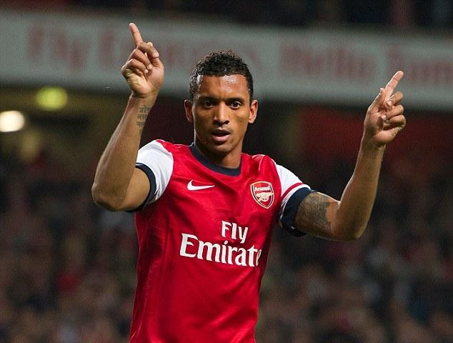 Nani đã là người của Arsenal?. Ảnh: Daily Mail