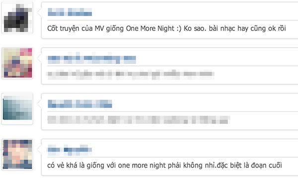 """Khá nhiều cư dân mạng cho rằng sản phẩm của Cao Thái Sơn đã ăn cắp ý tưởng từ MV """"One more night"""" của nhóm Maroon 5. - Tin sao Viet - Tin tuc sao Viet - Scandal sao Viet - Tin tuc cua Sao - Tin cua Sao"""