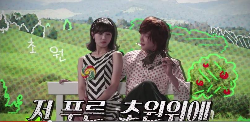 Tạo hình ngộ nghĩnh của Eunji và Ji Hyun Woo trong teaser đầu tiên