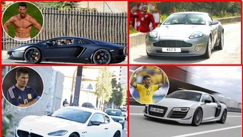 Những siêu xe hạng sang của các ngôi sao bóng đá