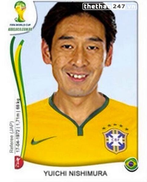 Nhiều CĐV Croatia cho rằng Nishimura là fan của Brazil