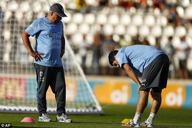 Luis Suarez vẫn chưa có được thể lực đảm bảo nhất