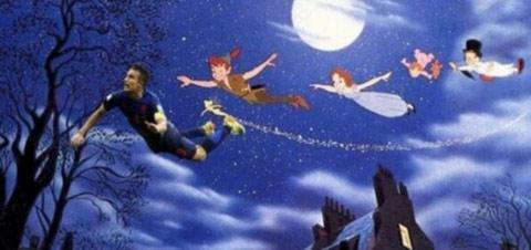 Van Persie, Peter Pan cùng Wendy và những người bạn