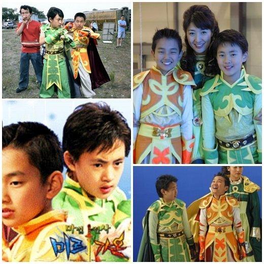 Hình ấu thở của Lee Min Ho và Yoo Seung Ho