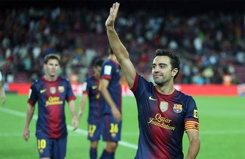 Xavi năm nay đã 34 tuổi và hầu như không còn động lực ở Barcelona. Ảnh: DB.