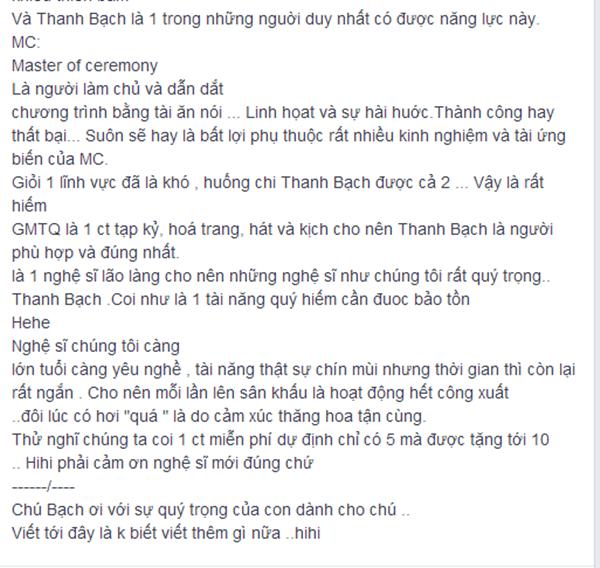 Những lời tâm sự và suy nghĩ mà Phương Thanh đăng tải. - Tin sao Viet - Tin tuc sao Viet - Scandal sao Viet - Tin tuc cua Sao - Tin cua Sao