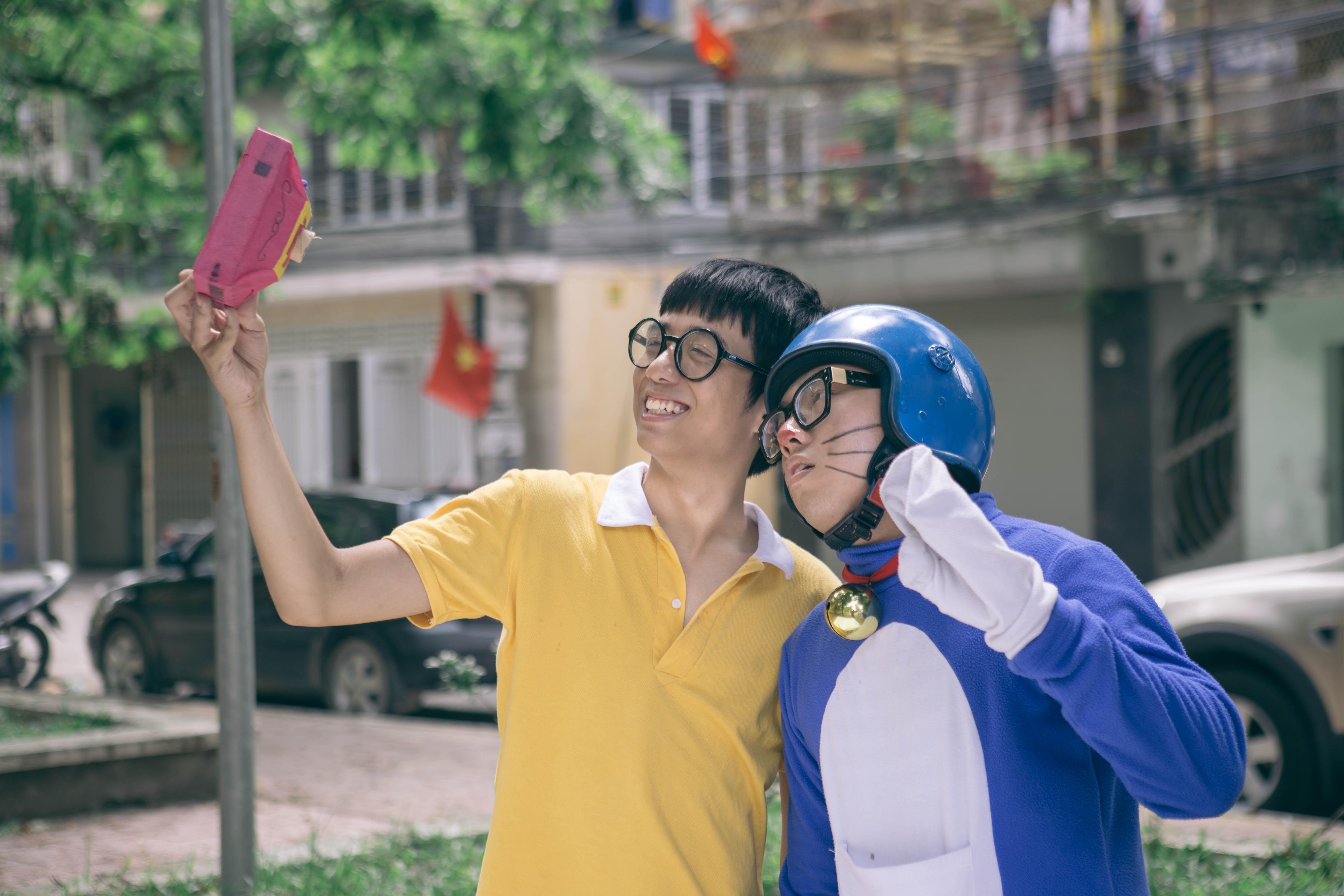 Gặp gỡ nhóm The 5050 với phiên bản Doraemon Việt Nam gây sốt cộng đồng mạng