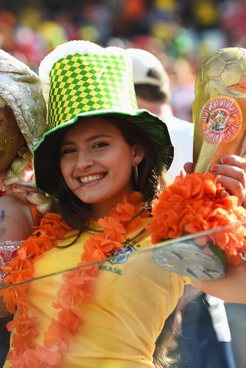 Fan nữ Hà Lan.