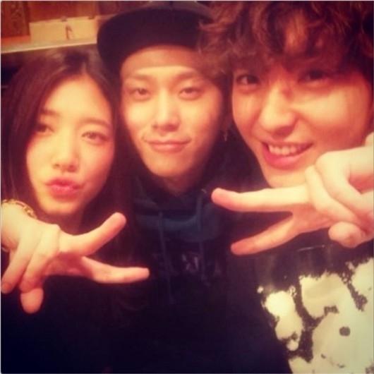 Park Shin Hye và Junhyung là những người bạn thân thiết ngoài đời