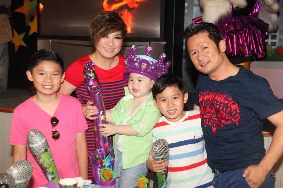 Gia đình của Bằng Kiều sum họp trong ngày sinh nhật Kenzi - Tin sao Viet - Tin tuc sao Viet - Scandal sao Viet - Tin tuc cua Sao - Tin cua Sao