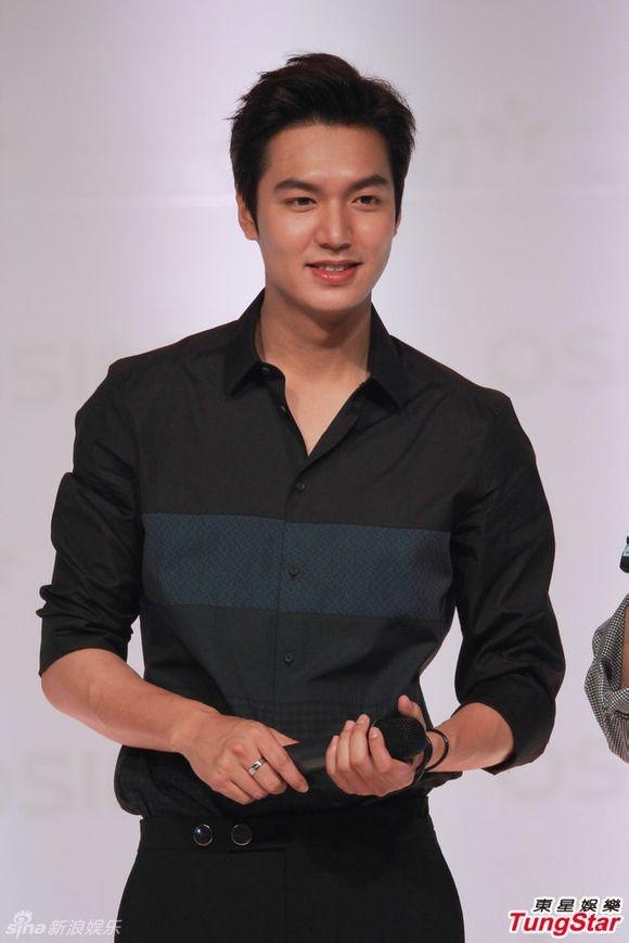 Hình ảnh Lee Min Ho trong buổi họp fan tại Hong Kong hôm 29/6 vừa qua